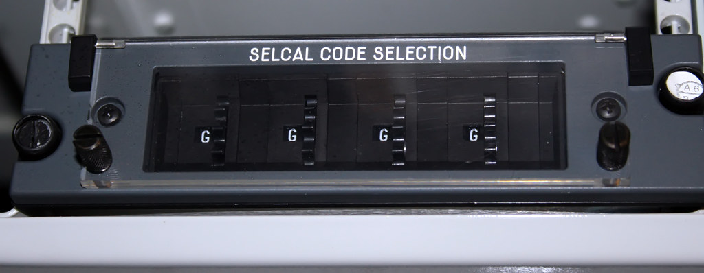 SELCAL Code Selection Panel  Entropa  Flickr
