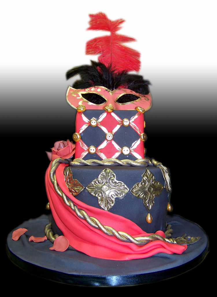 Masquerade Ball Cake Giovanni Ozuna Flickr