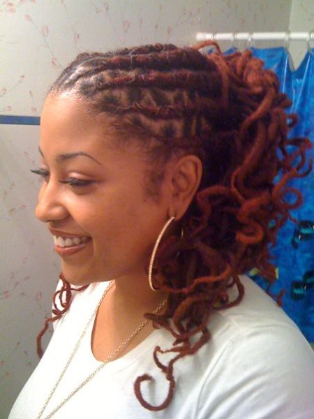 curly dreadlocks hairstyle  curly dreadlocks hairstyle  Flickr