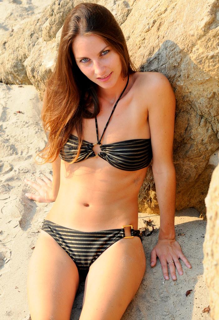 Bikini Swimsuit Model Goddess  Photoshoot of a swimsuit