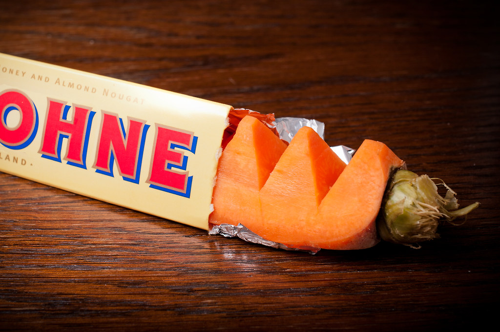 Tobler Ohne  New diet chocolate bar D Shot with a