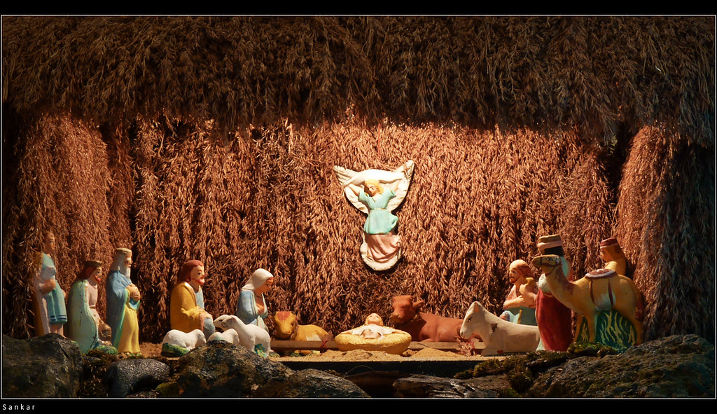 Pulkoodu One Of The Crib Made During Christmas