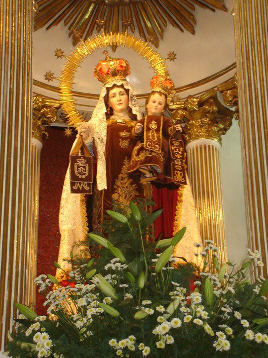 Virgen del CarmenToluca Mxico  El barco del Carmelo