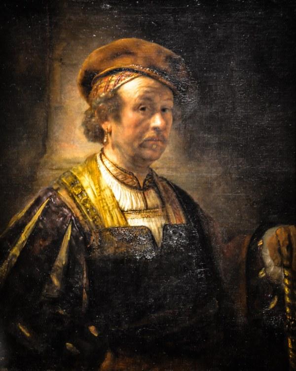 Rembrandt Workshop - Portrait Of National Art
