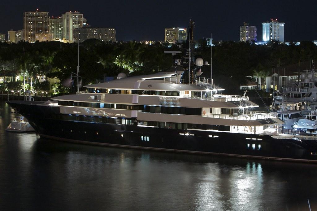 Seven Seas Yacht Steven Spielbergs New Yacht Seven