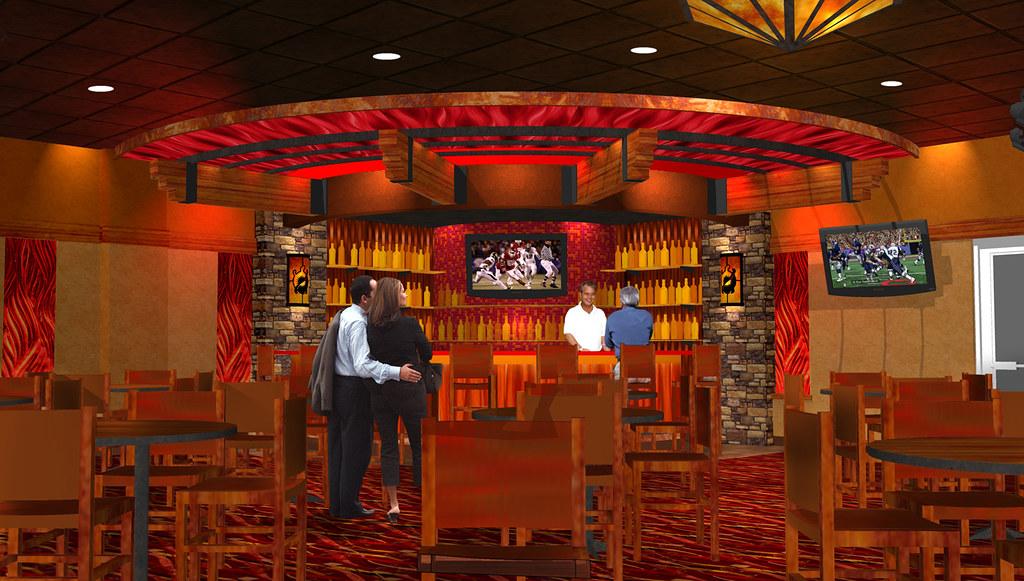 Casino Bar Rendering  Bar Decor Design  Interior Bar Ren  Flickr
