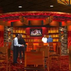 Kitchen Design Layout Sink Clogged Casino Bar Rendering   Decor Interior Ren ...
