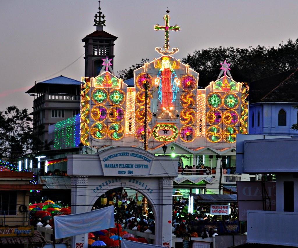 Its Festive Time in Kerala St Marys Church Parel Cha