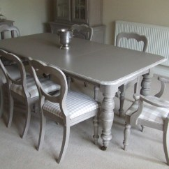 Grey Kitchen Chairs Rattan Rocking Chair Ikea Charlston Dining Table And Paintedfurniture19