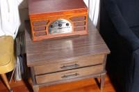 Vintage Mid Century Square End Table $75 | CastawayVintage ...