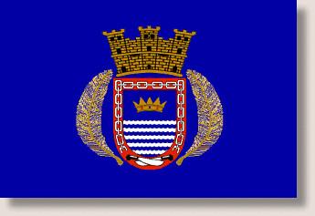 Bandera De Naguabo P R Es De Tipo Rectangular Azul