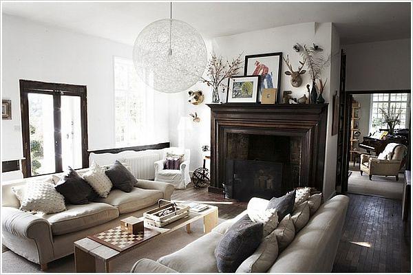 Shoot Factory white rustic modern living room  brooklyn  Flickr