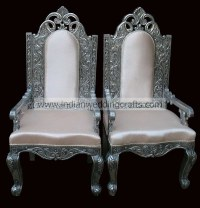 White-Throne-Arms | white metal arm chairs, thrones ...