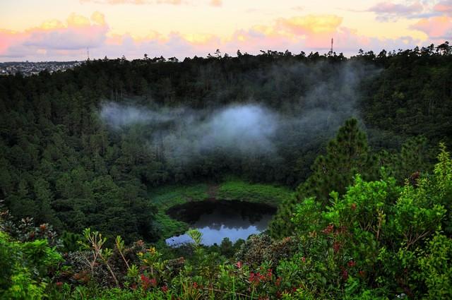The Trou Aux Cerfs Dormant Volcano Mauritius By Rishi Ra
