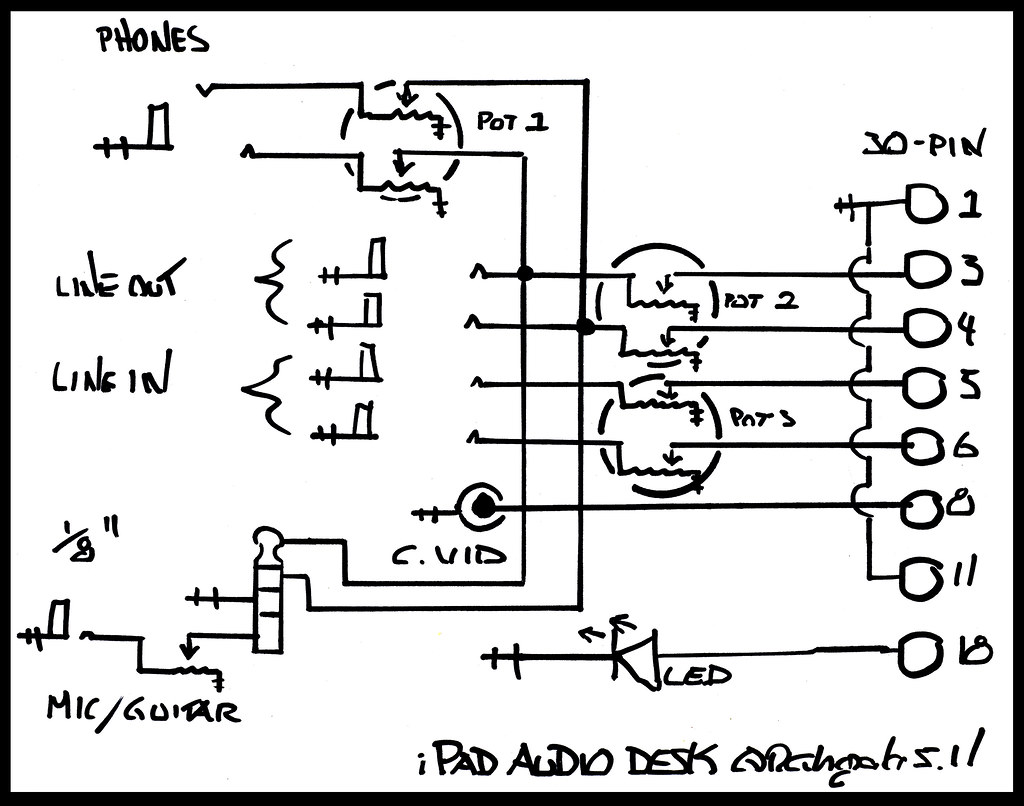 firewire cable wiring diagram