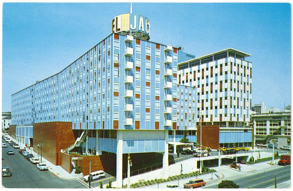 Jack Tar Hotel Cathedral Hill Hotel 1960  San