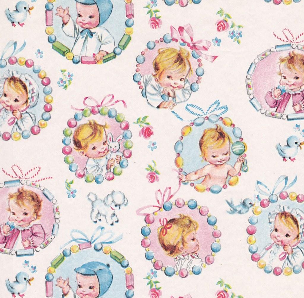 Vintage Gift Wrap Baby Teething Rings Heather David Flickr