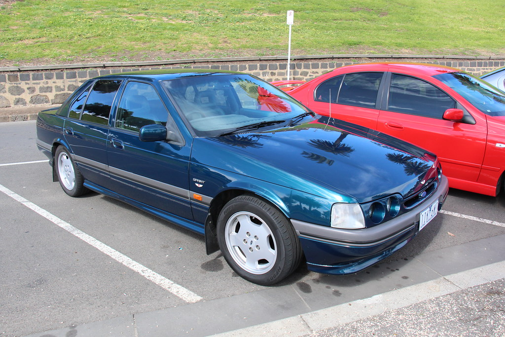 1994 Ford ED Falcon XR8 Sprint Sedan  Polynesian Green