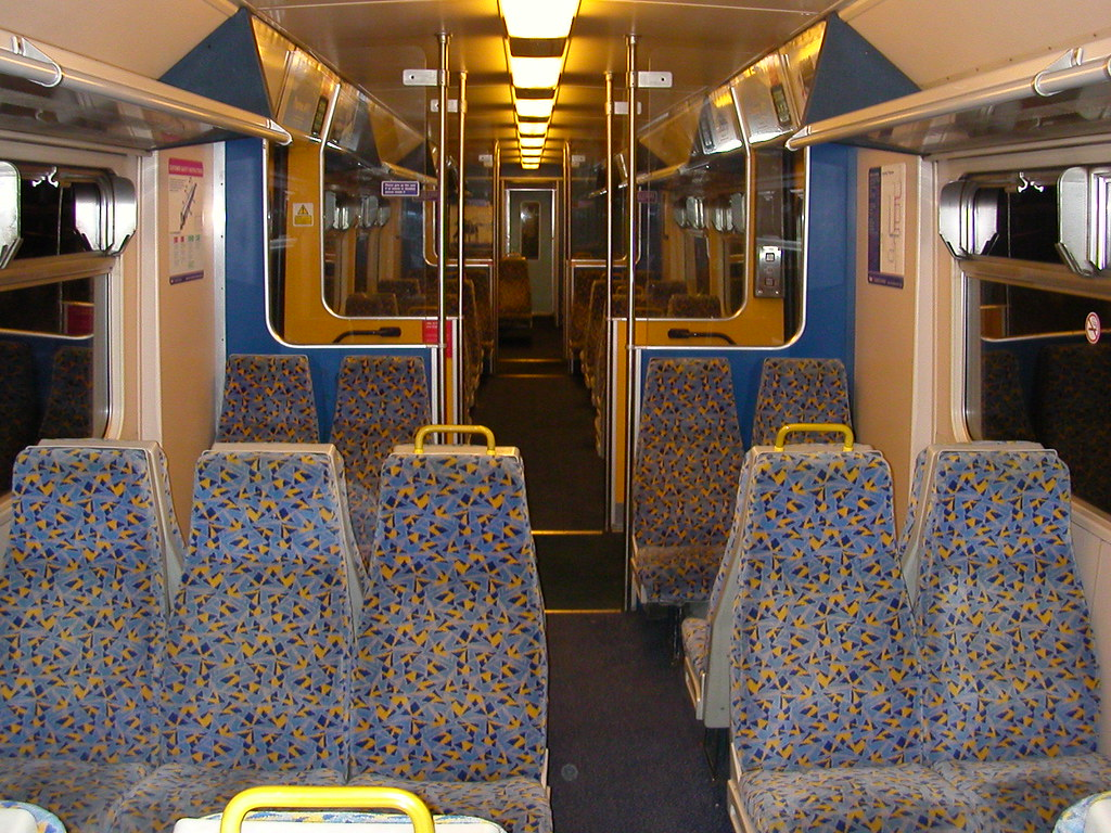 Class 319 Interior View  On 13th January 2007 this empty C  Flickr
