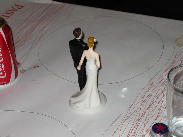 Naughty wedding cake topper  Flickr  Photo Sharing