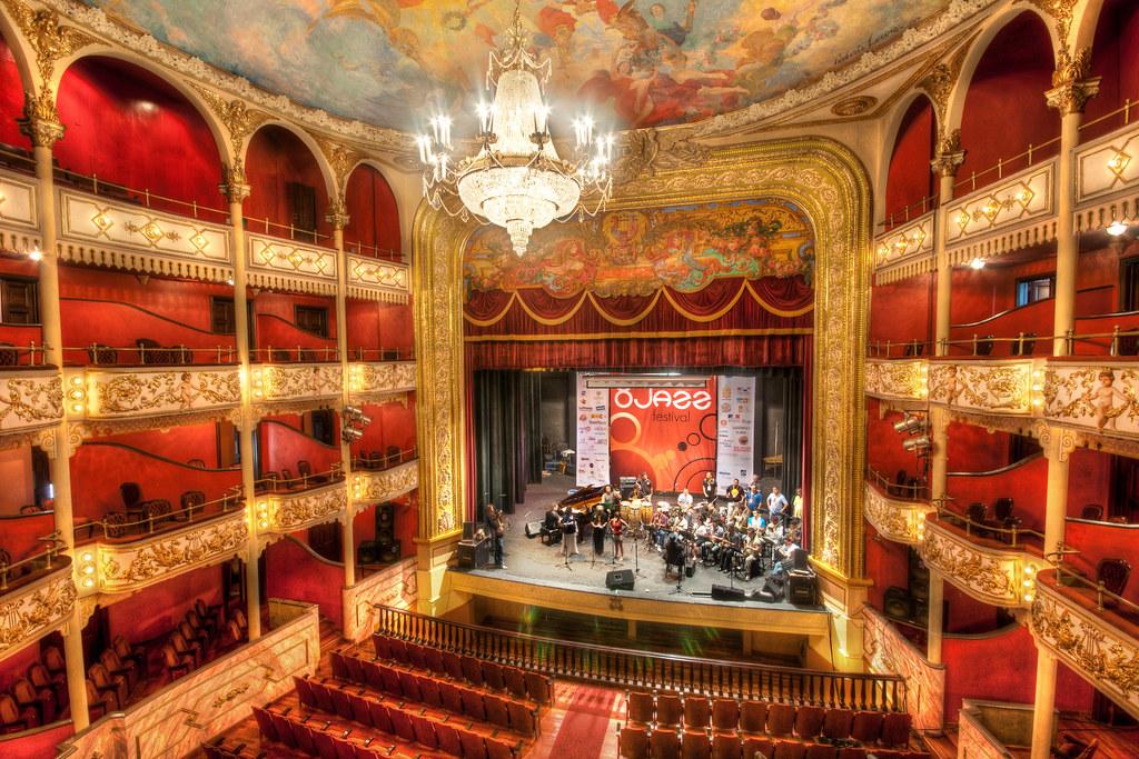 Panama National Theater  HDR inside the Panamanian