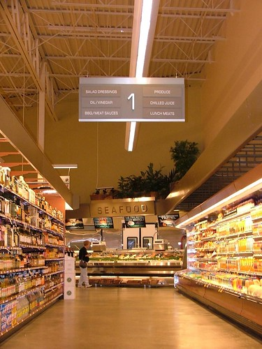Grocery Store Aisle Signage Interior Aisle Signs