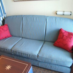 Disney Dream Sofa Bed Blue Upholstery Fabric In Stateroom This Is The
