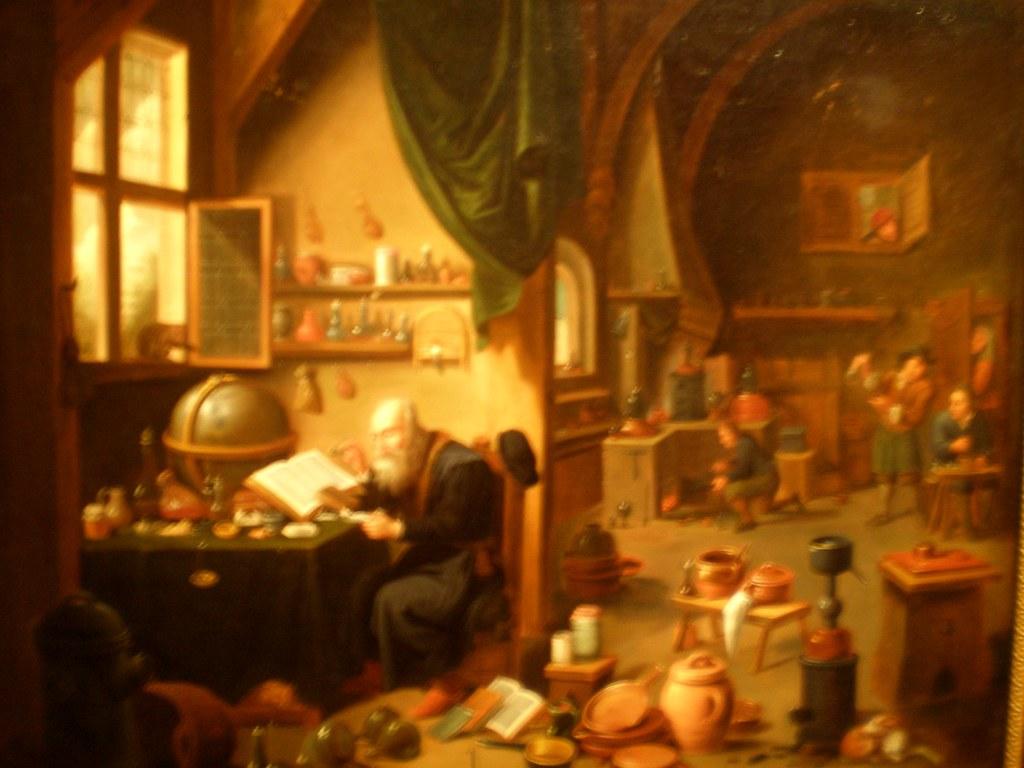 David Teniers II Circle of Alchemists Workshop The G
