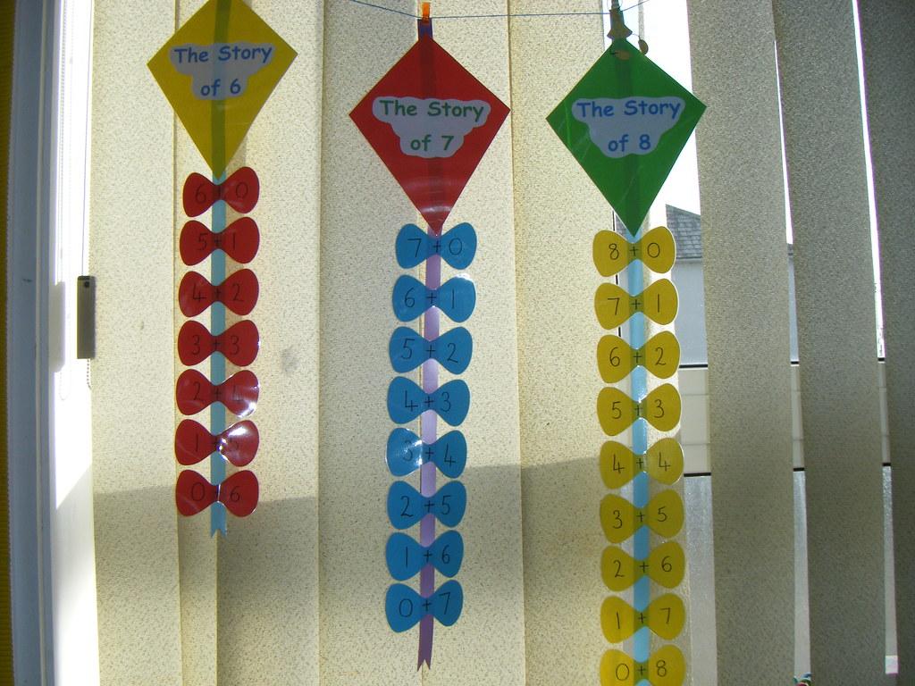 Number Bond Kites