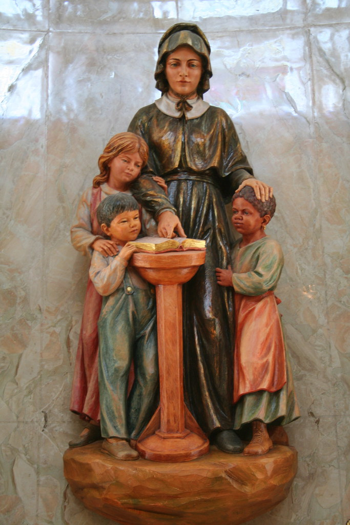 St Elizabeth Ann Seton Mother Seton CoCathedral of t  Flickr