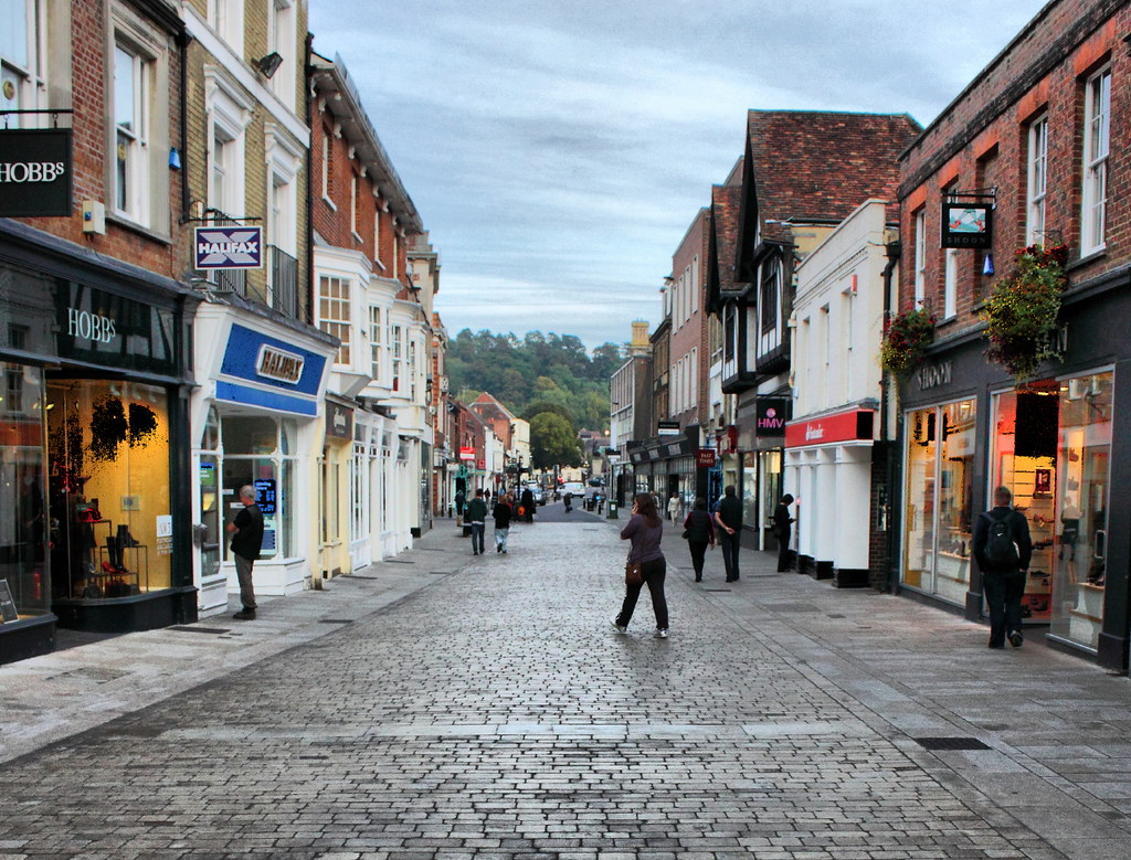 High Street, Winchester, UK | 4 Corrigans | Flickr