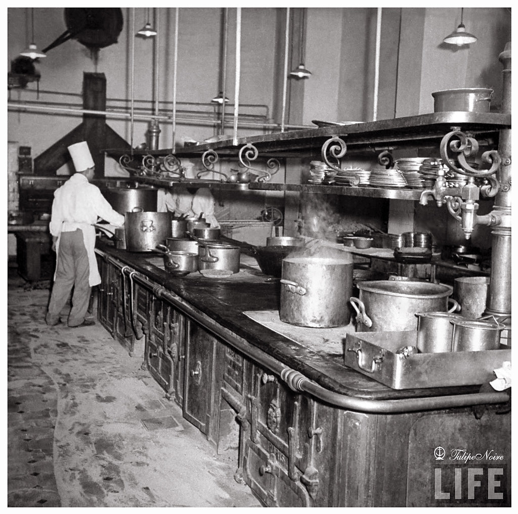 Interior of The Kitchen at Shepheards Hotel In 1942  Flickr