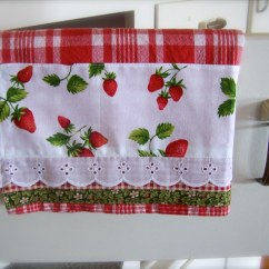 Kitchen Towel Storage Shelf Strawberry Decor | This Tea ...