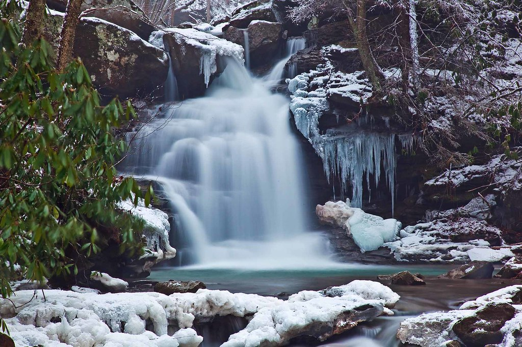 Free Fall Waterfall Desktop Wallpaper Winter Waterfall Ice Snow Rocks If You Would Like To Use