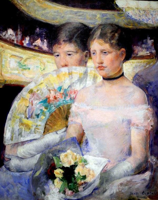 Mary Cassatt - Loge 1882 National Of Art
