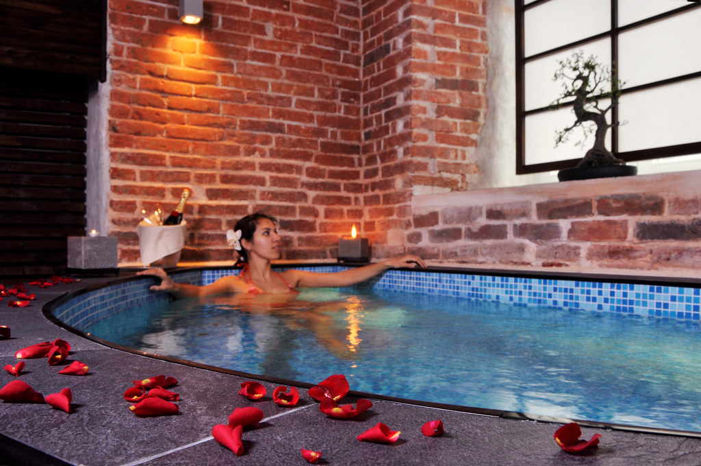 Zen SPA Japanese pool  von Stackelberg Hotel Tallinn has