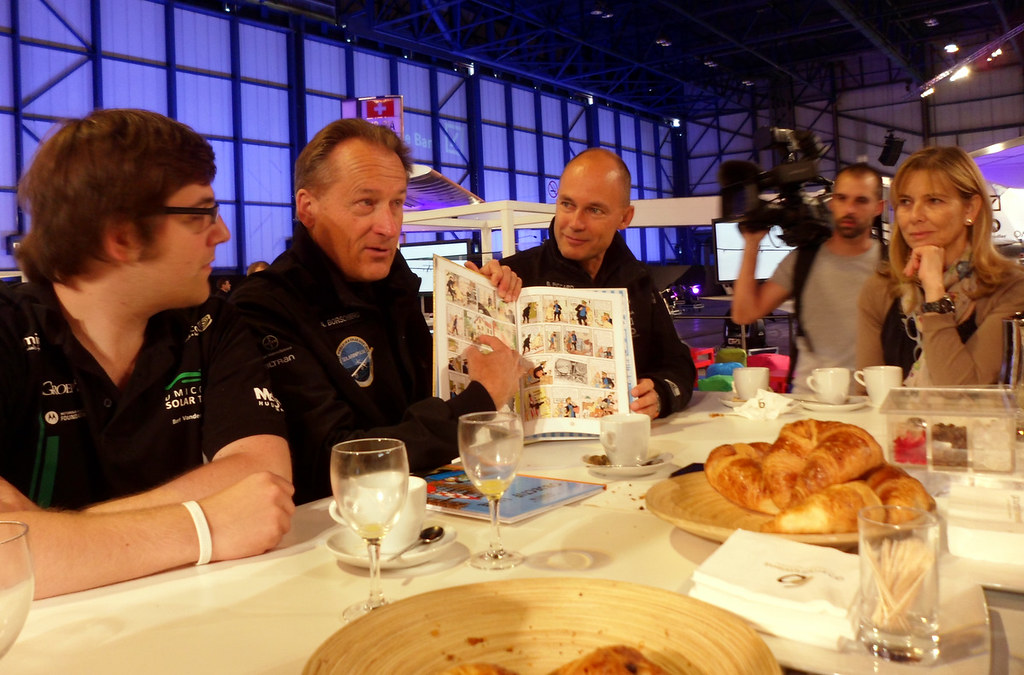 Solar Impulse Bloggers Breakfast