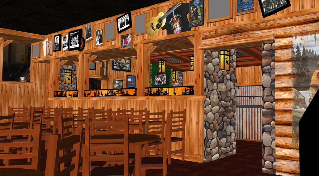 Bar and Grill Design  Lodge Style Bar Design  Conceptual  Flickr
