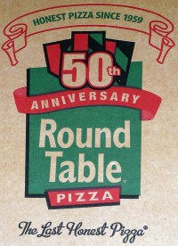 Round Table Pizza Box Logo May 2010 | Flickr - Photo Sharing!