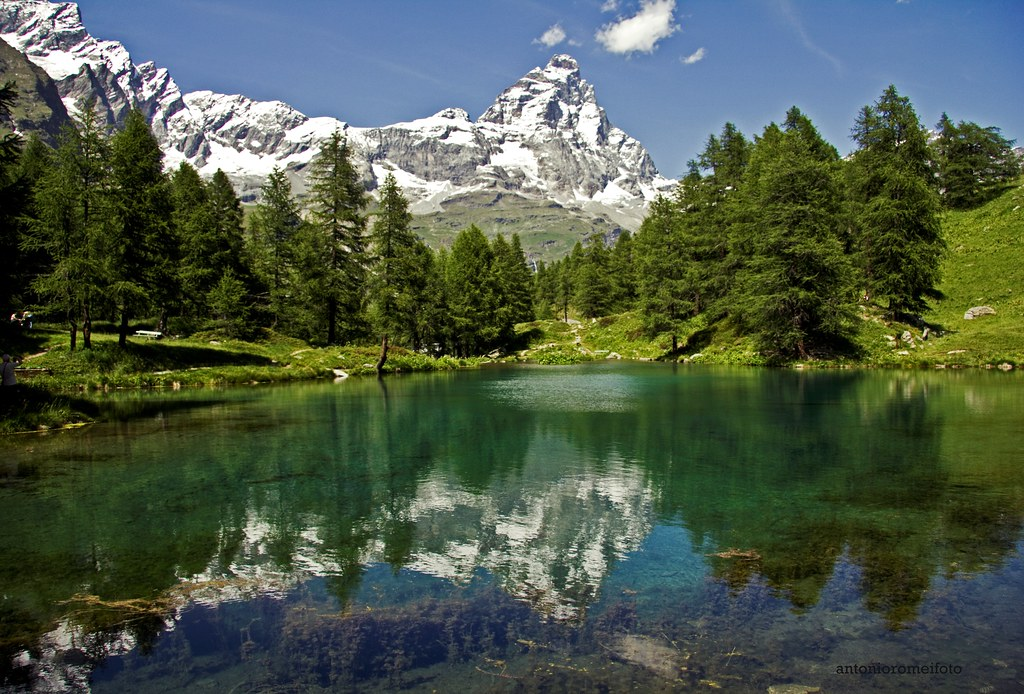 il lago blu  cervinia valle daosta  Antonio Romei  Flickr