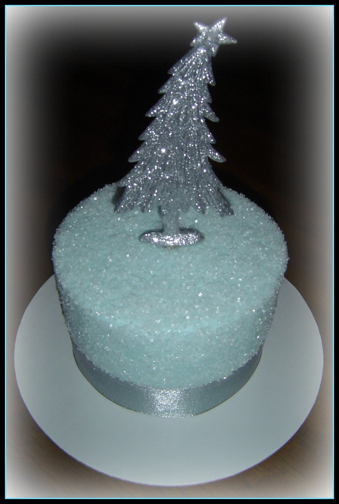 Sugar Crystal Winter Cake  Another one of the five cakes  Flickr