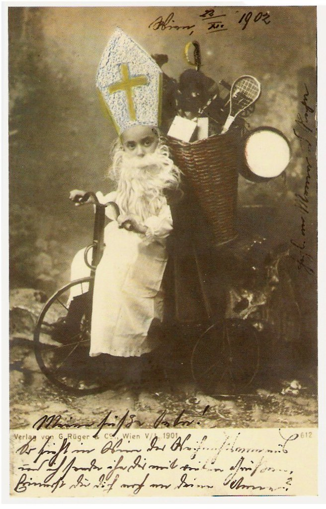 Sinterklaas Austrian Postcard By Verlag G Rger Amp Co