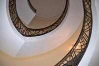 Art deco stairwell