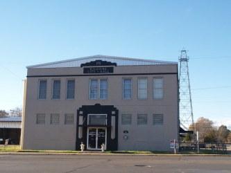 kilgore town texas hall building oil derrick well historic