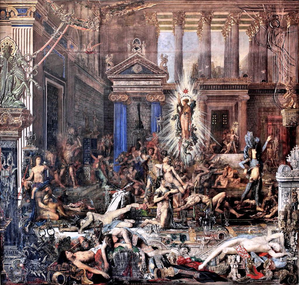 IMG_0950A  Gustave Moreau 18261898 Paris Les Prtendant  Flickr