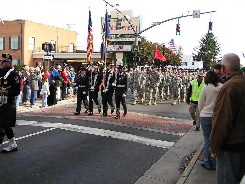 Woodbridge Va High School Veterans Day Parade