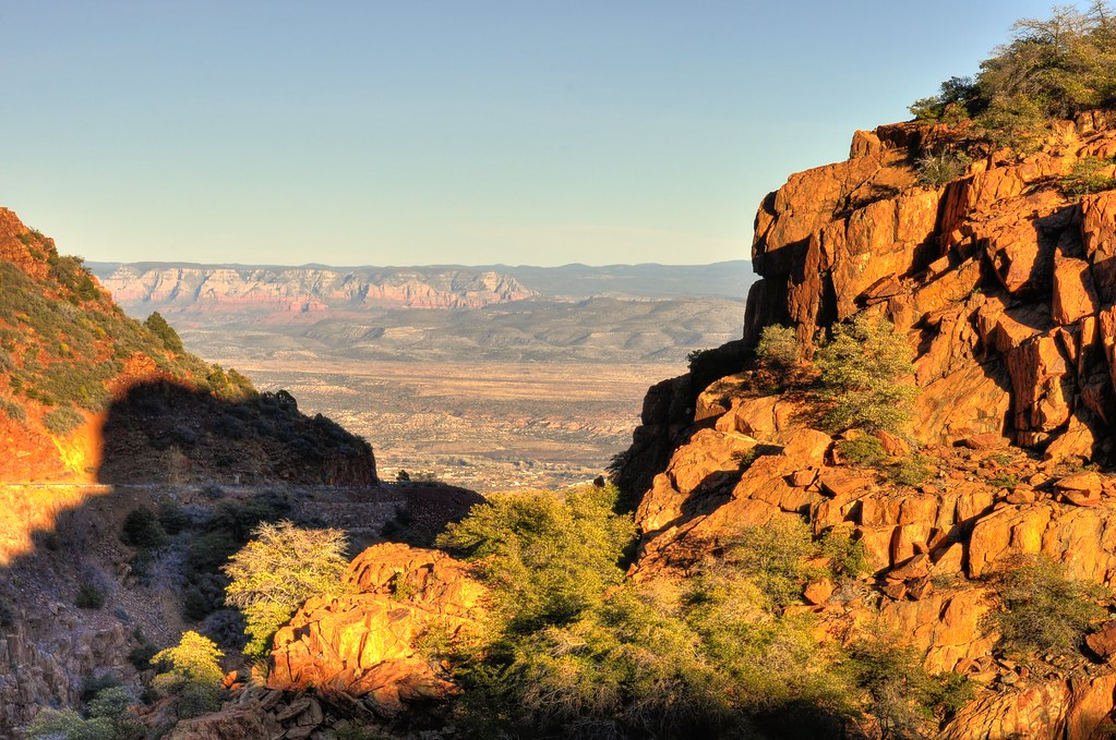 View from Mingus Mountain down toward Jerome Arizona  Flickr