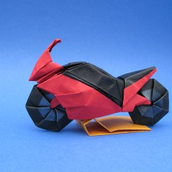 Origami Diagram Motorcycle 2008 Jeep Patriot Fuse Box Bike 2 Designed By Ryo Aoki I Folded Another