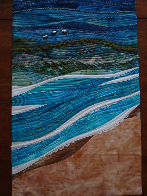 skinny quilts seascape denise
