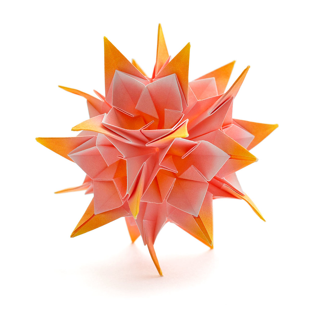 origami flower diagram in english wiring for motorcycle led lights tuberose kusudama name designer meenakshi
